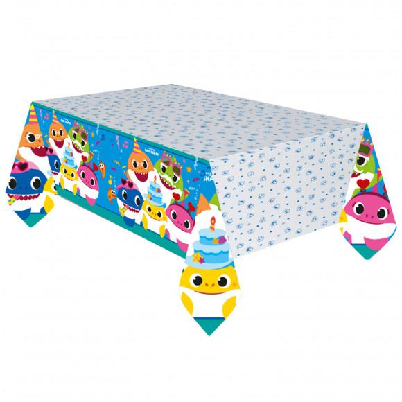 AVA selection Tafelkleed Papier Baby Shark 180x120cm