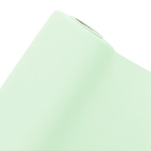 GALA Nappe En Rouleau Uni Vert Menthe Sensation De Lin 10m x 120cm Vert