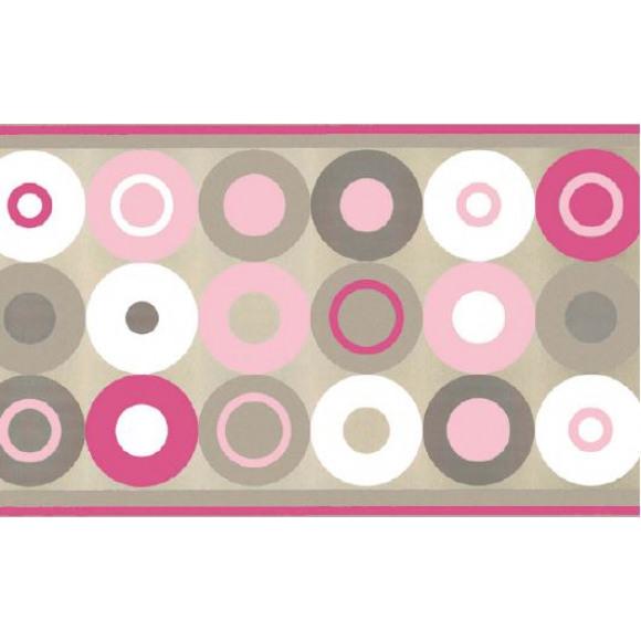 FIESTA Set De Table Dessin Crazy Dots Pink 30x43cm 100 Pièces Dessin