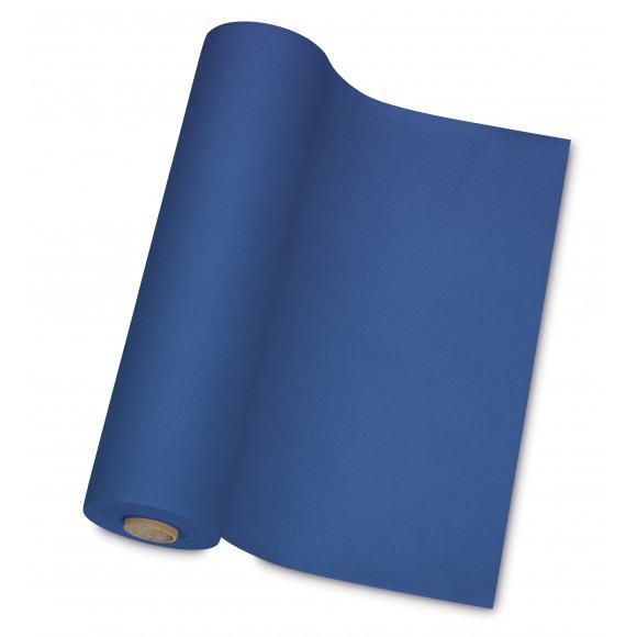 GALA Nappe En Rouleau Uni Royal Blue Sensation De Lin 10mx120cm Bleu