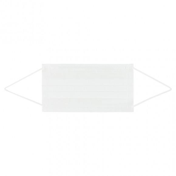 AVA selection Wegwerpmondmasker Wit 3-Laags Met Neusbrug 10 Stuks Wit