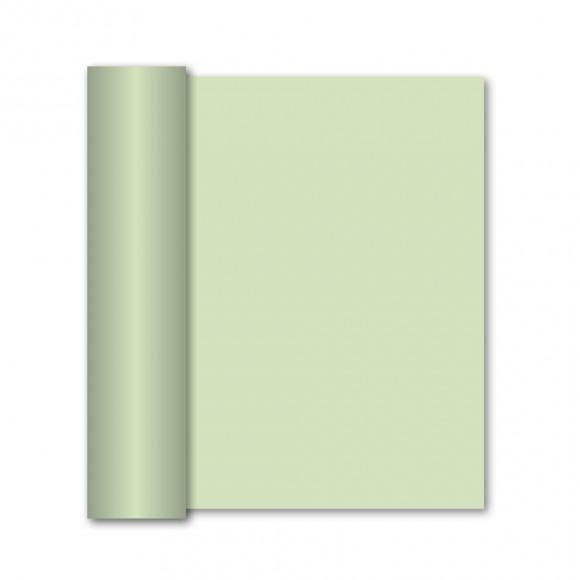 GALA Chemin De Table Uni Vert Menthe Sensation De Lin 10m x 40cm Vert