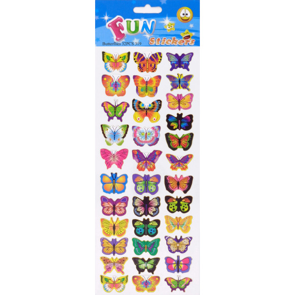 AVA selection Fun Stickers Vlinders