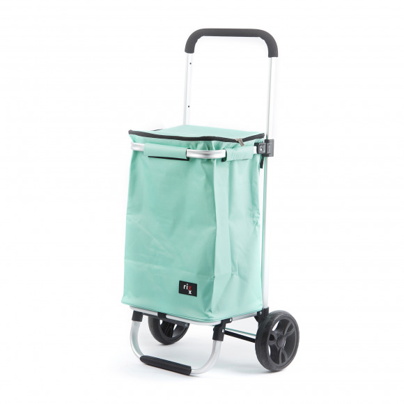 AVA selection Shopping Trolley IJsgroen 46x37x98cm 30L