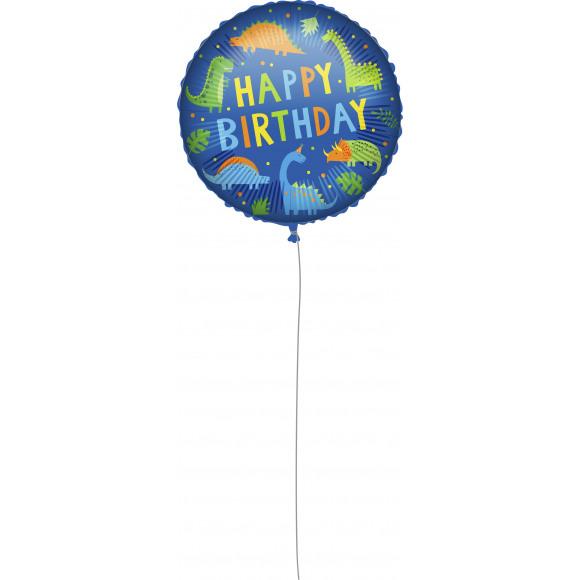 "AVA selection Folieballon ""Happy Birthday"" Dino Ø 46cm"