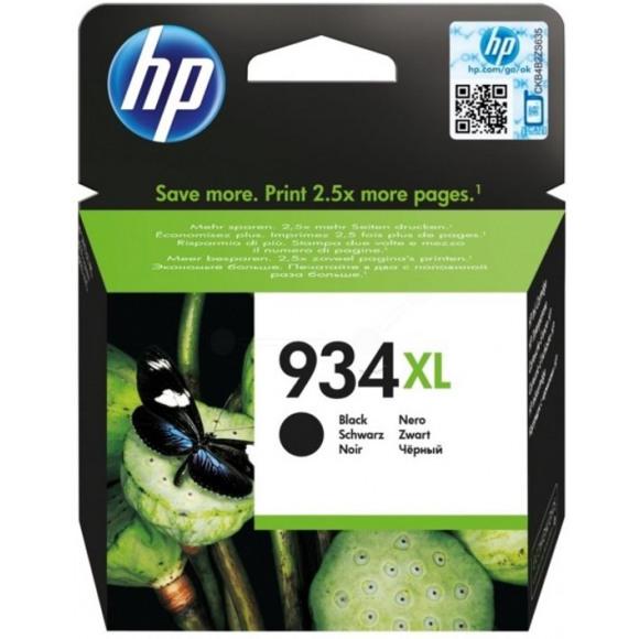 HP Cartouche 934XL Noir Noir
