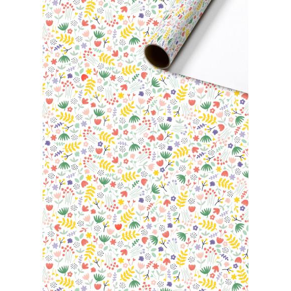 STEWO Inpakpapier Roze Feline 200x70cm Paars/Roze