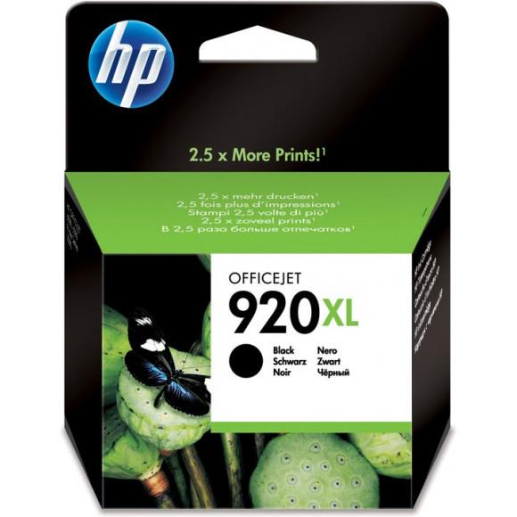 HP Cartouche 920XL Noir Noir