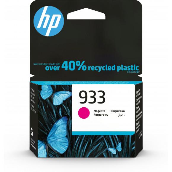 HP Cartridge 933 Magenta Paars/Roze