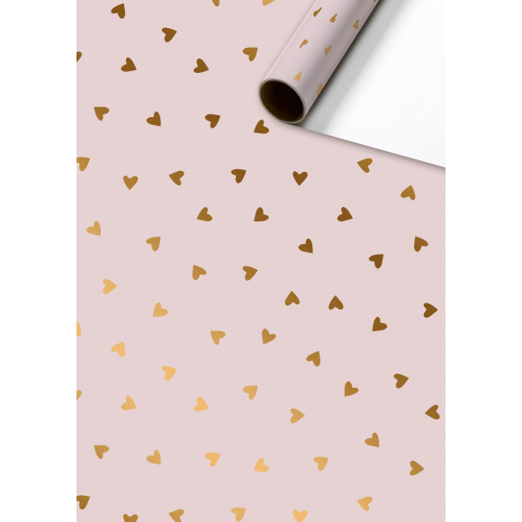 STEWO Inpakpapier Lichtroze Naomi 150x70cm Paars/Roze