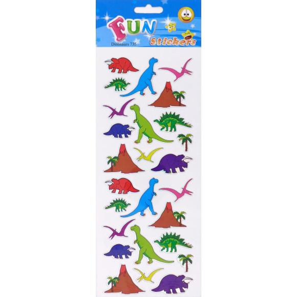 AVA selection Fun Stickers Dino