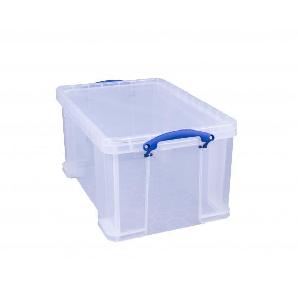 REALLY USEFUL BOX Boîte De Rangement 48L Transparent