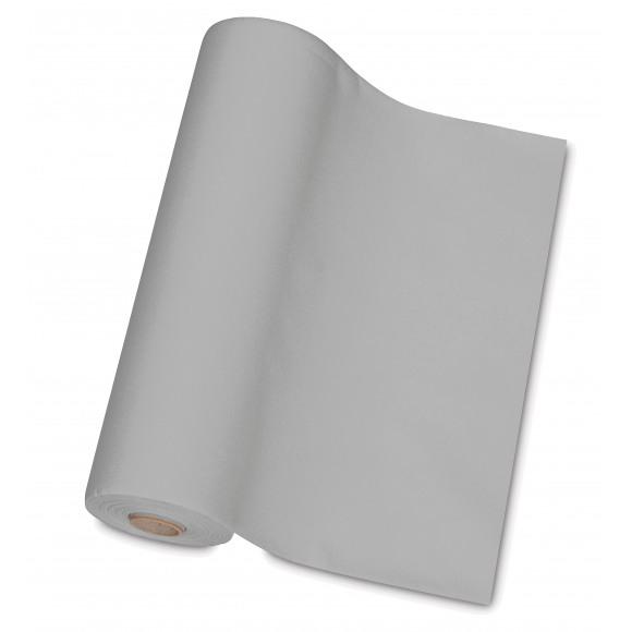 TABLESTAR chemin de table uni sensation de lin 30m x 40cm Noir/gris