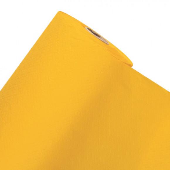 FIESTA Nappe En Rouleau Passion Yellow Uni En Papier 50mx120cm Jaune