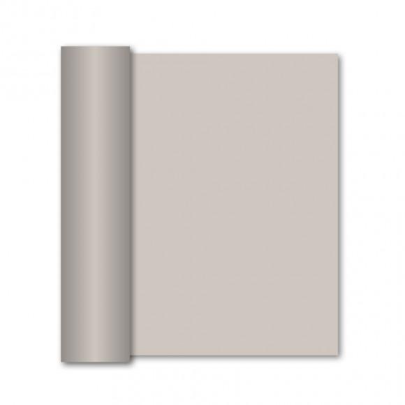 GALA Chemin De Table Uni Pebble Stone Sensation De Lin 10mx40cm Noir/gris
