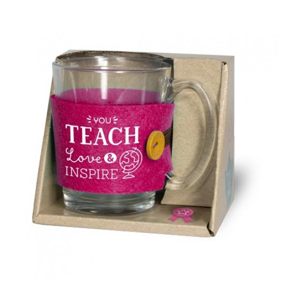 "AVA selection Theeglas ""You Teach Love & Inspire"""