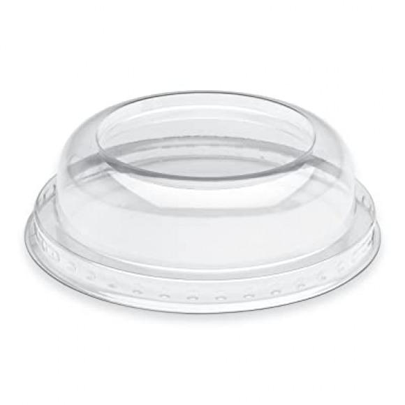 AVA selection Dôme Deksel APET H 3cm Ø 10cm Voor Dessertcup Op Voet 25 Stuks