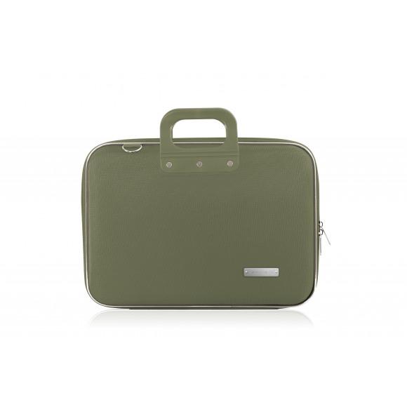 """BOMBATA Sac 15"""" 43x33x7cm Vert Nylon Vert"""