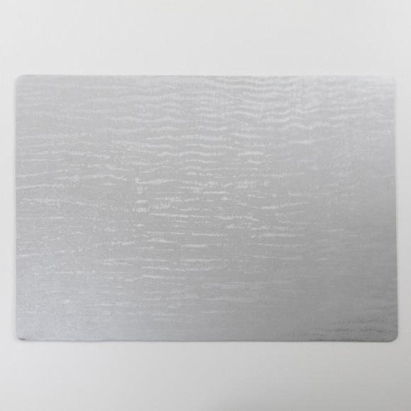 FINESSE Placemat Afwasbaar Polyline Forest Silver 30x43cm