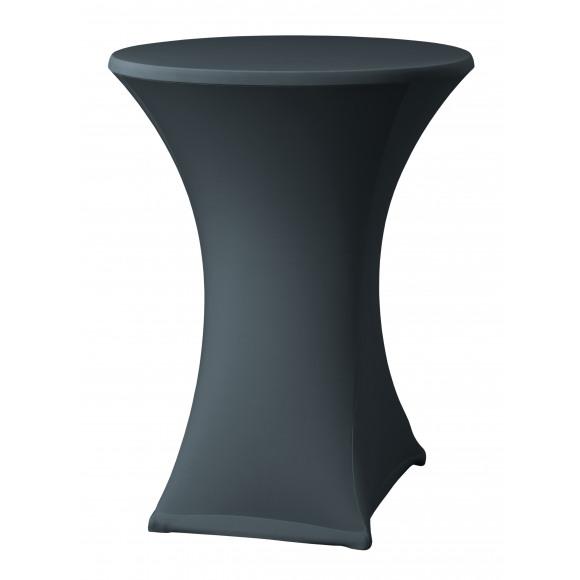 DENA Housse Pour Mange-Debout Anthracite Ø 80-85cm Samba D2 Noir/gris