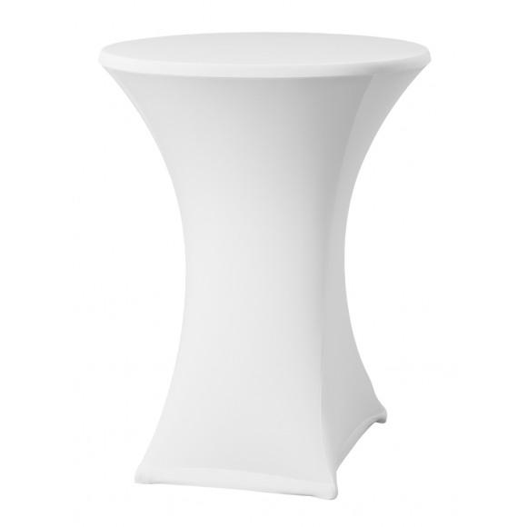 DENA Housse Pour Mange-Debout Blanche Ø 80-85cm Samba D2 Blanc