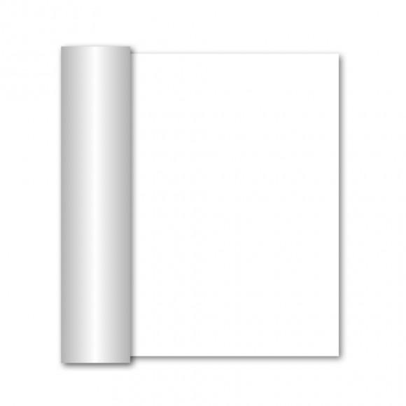 GALA Chemin De Table Uni White Sensation De Lin 10mx40cm Blanc