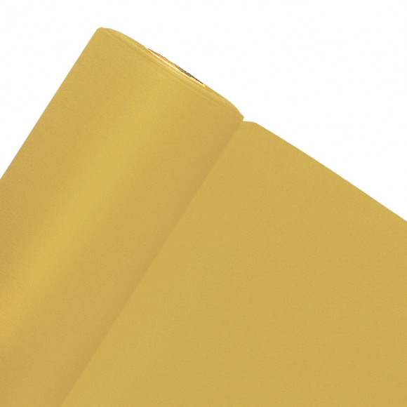 GALA Nappe En Rouleau Uni Gold Sensation De Lin 10mx120cm Or