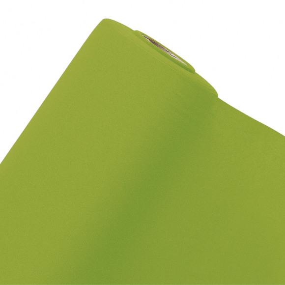 GALA Nappe En Rouleau Uni Green Tea Sensation De Lin 10mx120cm Vert