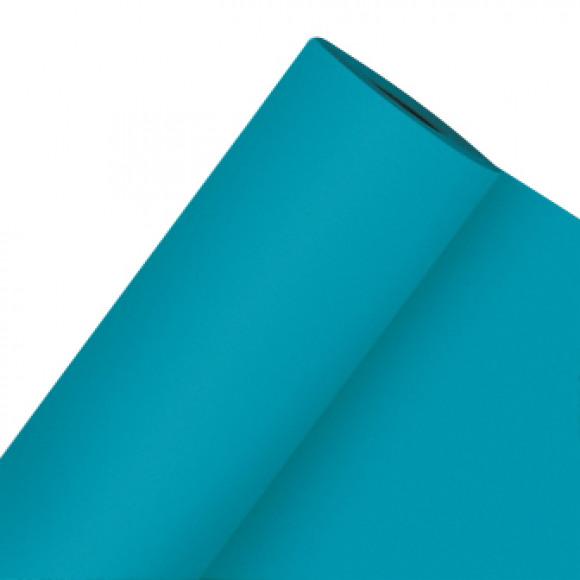 GALA Nappe En Rouleau Uni Azur Sensation De Lin 25mx120cm Bleu