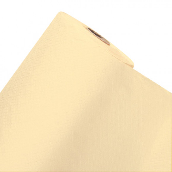 FIESTA Nappe En Rouleau Ecru Uni En Papier 50mx120cm Blanc