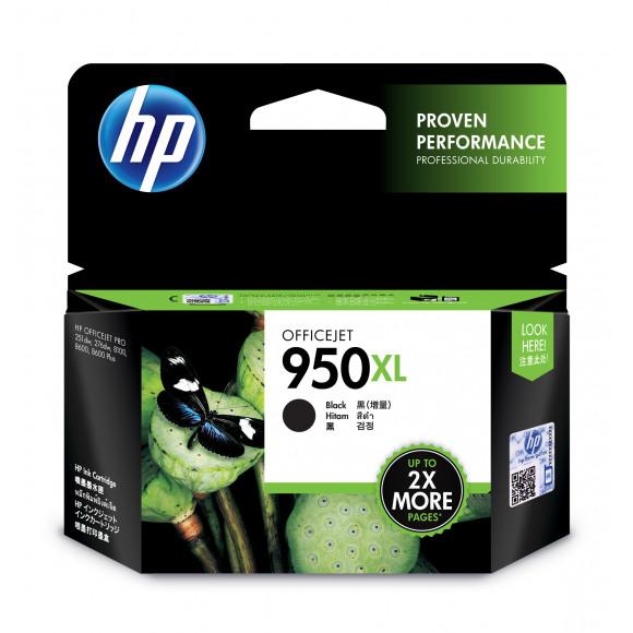 HP Cartouche 950XL Noir Noir