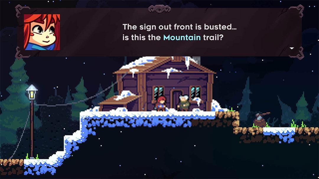 Screenshot van  Celeste