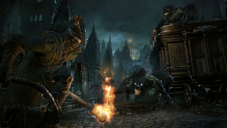 Screenshot van Bloodborne