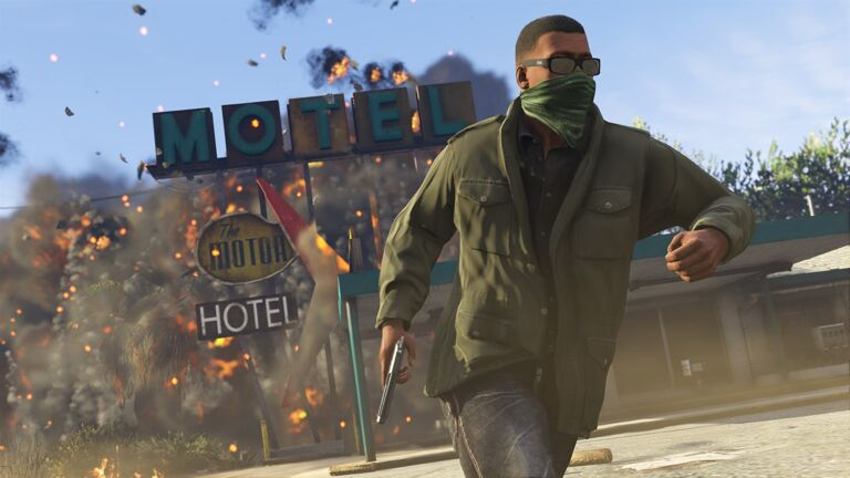 Screenshot van GTA 5