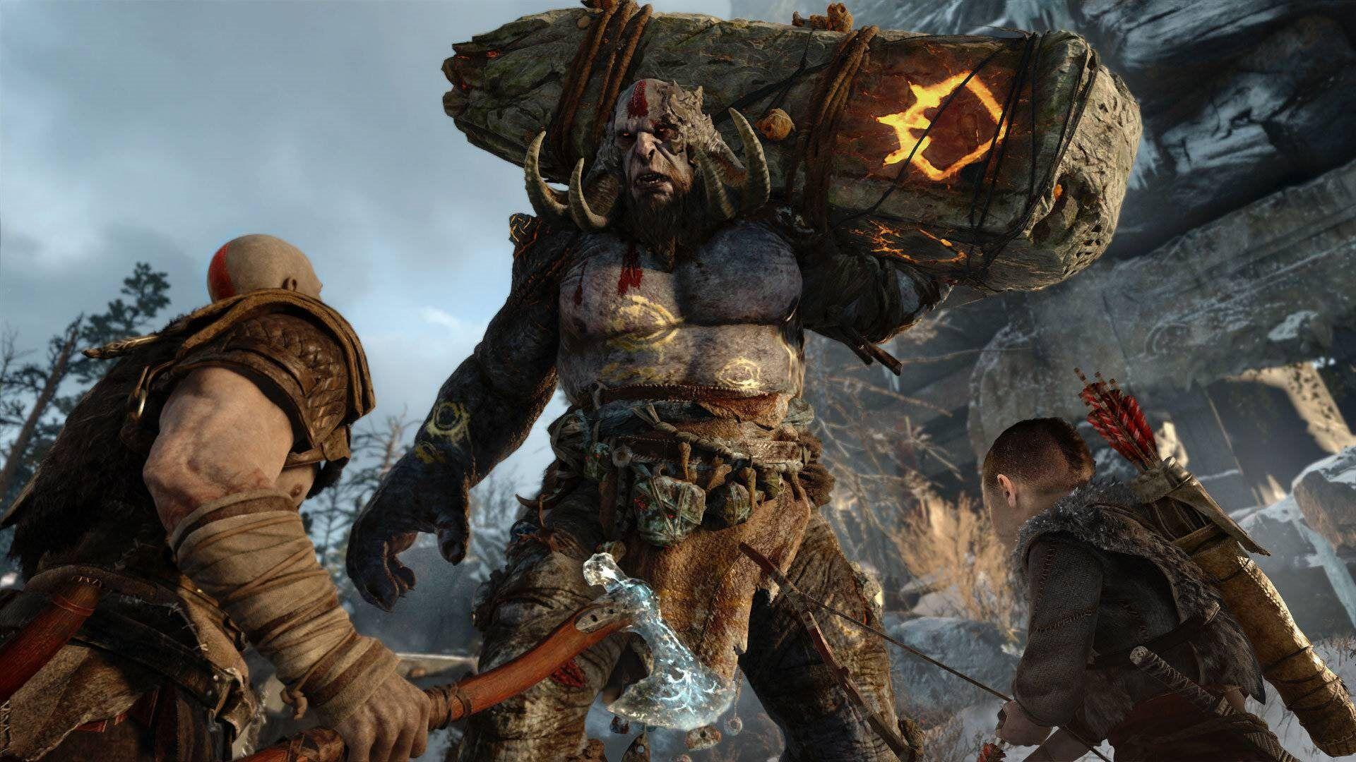 Screenshot van God of War