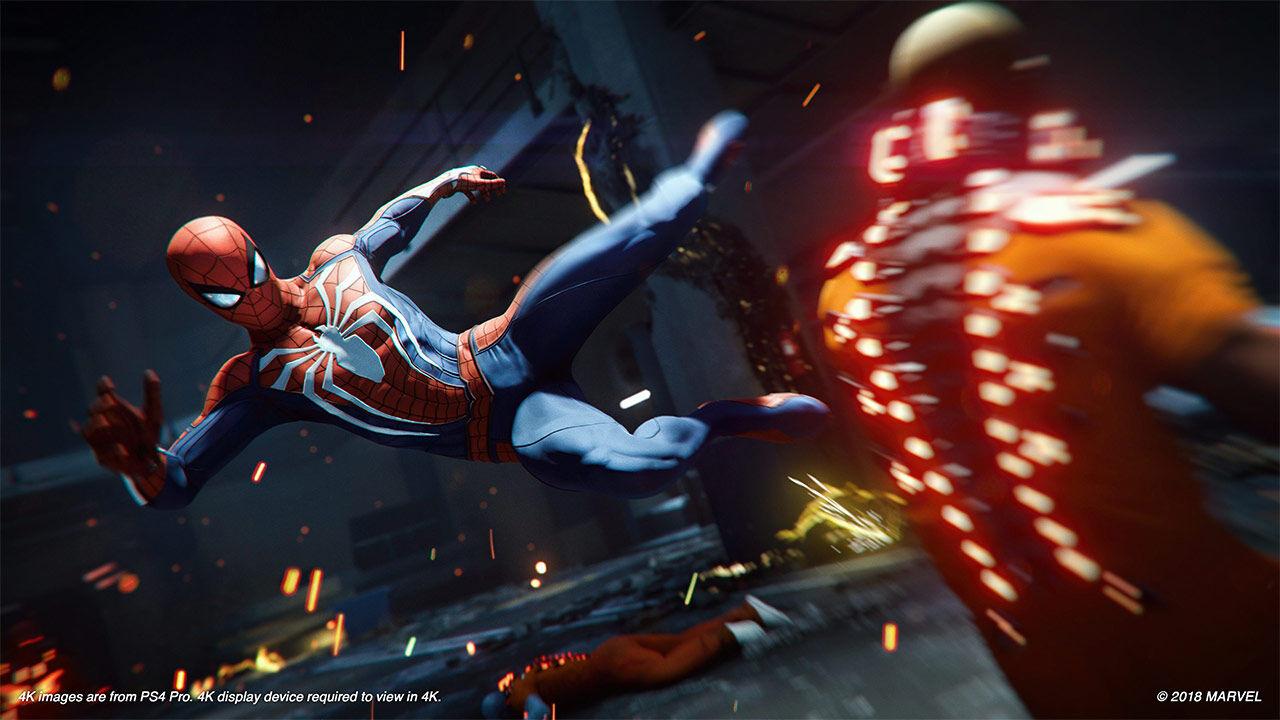 Screenshot van Marvel's Spider-Man