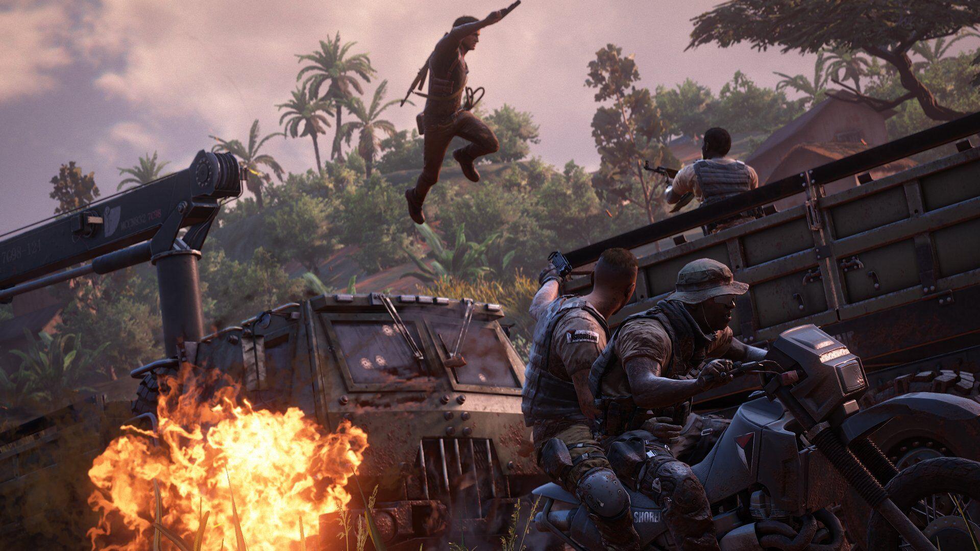 Screenshot van Uncharted 4