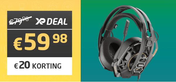 RIG 500 Pro HA Dolby Atmos Wired Gaming Headset - Plantronics