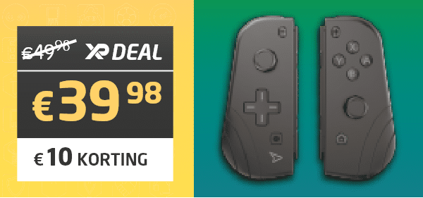 Twin Pads Wireless Controllers voor Nintendo Switch - Steelplay