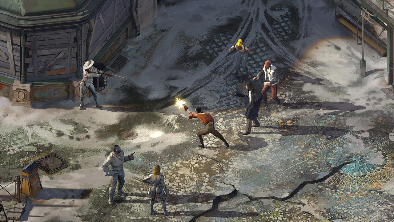 Screenshot van  Disco Elysium