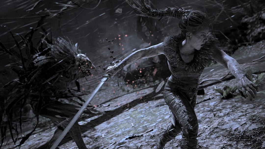 Screenshot van Hellblade: Senua's Sacrifice