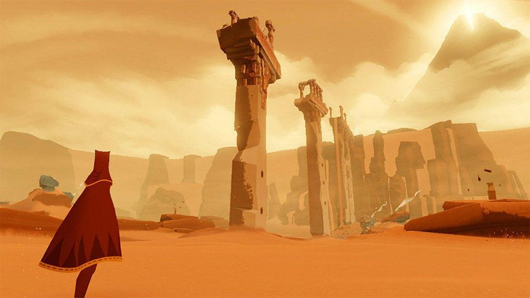 Screenshot van Journey