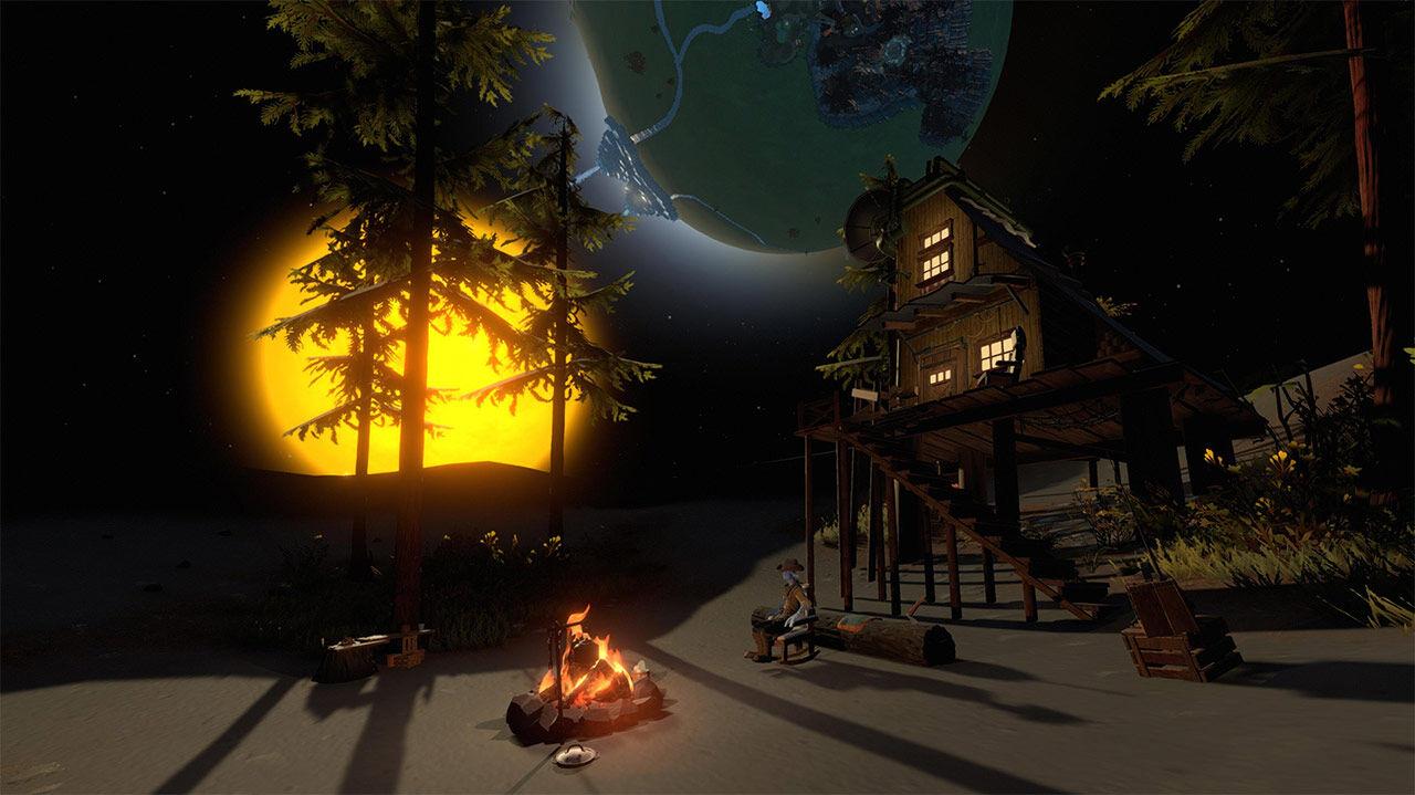 Screenshot van Outer Wilds