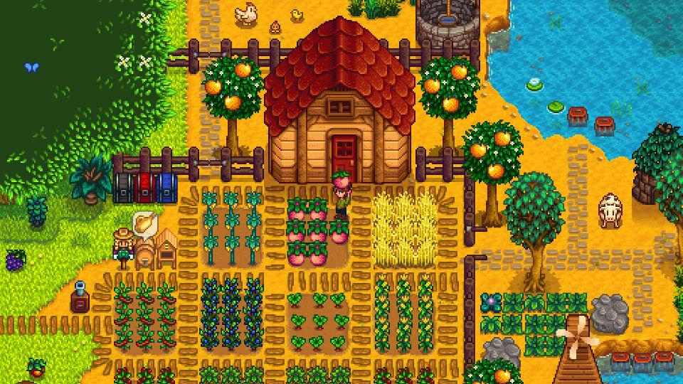 Screenshot van Stardew Valley