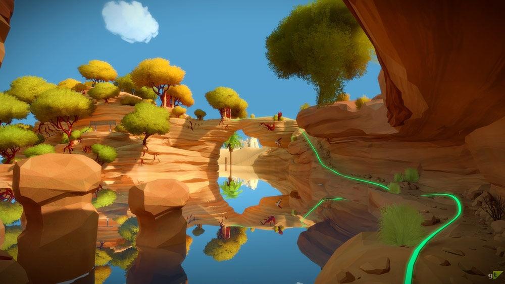 Screenshot van The Witness