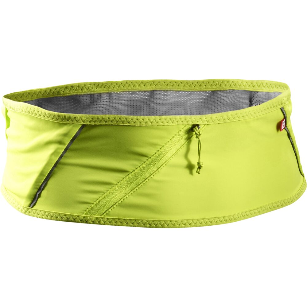 Salomon Unisex Pulse Belt Grey Sports Running Breathable Reflective Lightweight