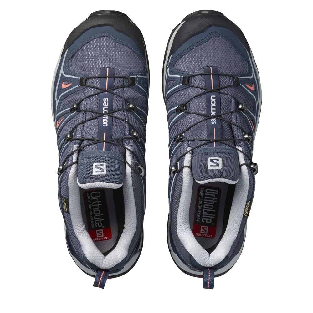 Shop Salomon X Ultra 2 GTX Women's Walking Shoes Grey 371595