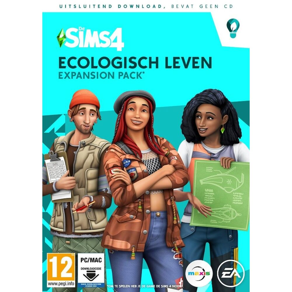 De Sims 4 Ecologisch Leven Expansion Pack Pc Cd Dvd Game Mania