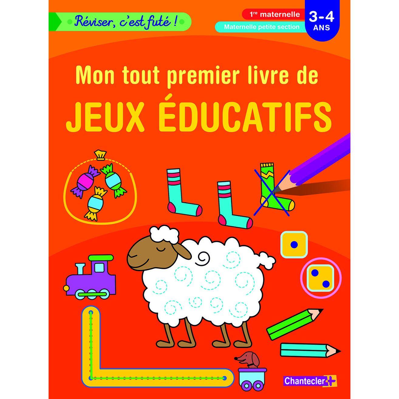 Reviser C Est Fute Mon Tout Premier Livre De Jeux Educatifs 3 4 Ans Livres Ava Be