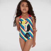 Speedo - Badpak Junglesamb Dig Placem Swimsuit Kids